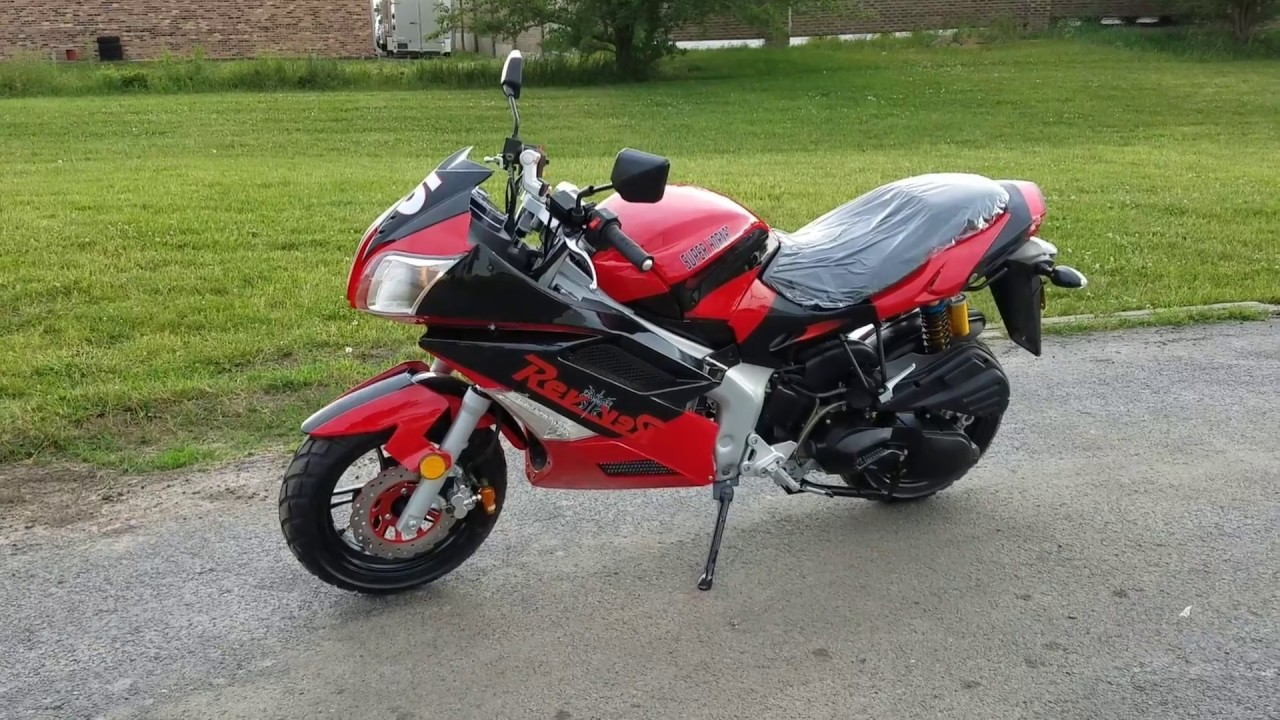 150cc Super Hornet Motorcycle Scooter Moped For Sale From