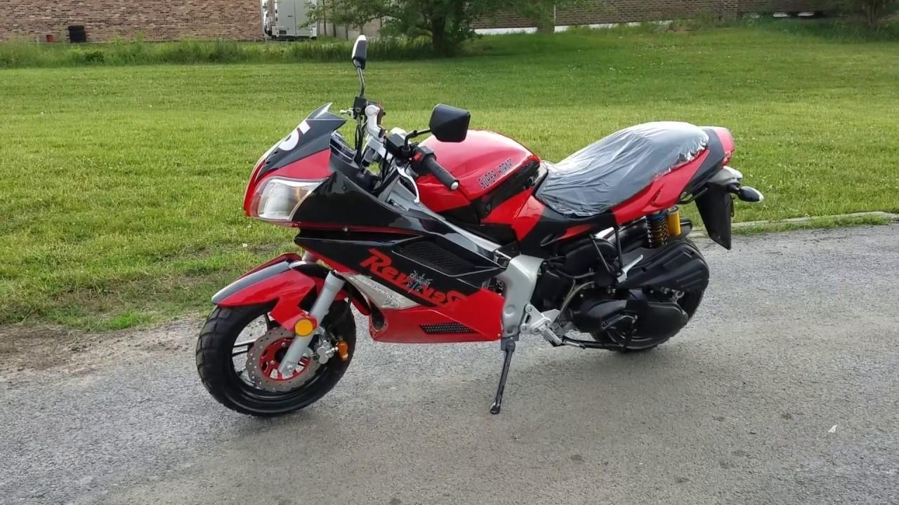 Ongebruikt 150cc Super Hornet Motorcycle Scooter Moped For Sale From VV-23