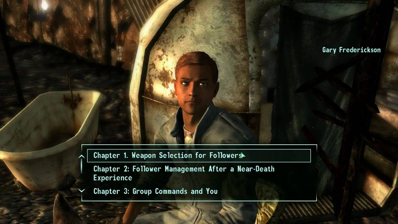 Relaxed Play: Fallout 3 With Mods