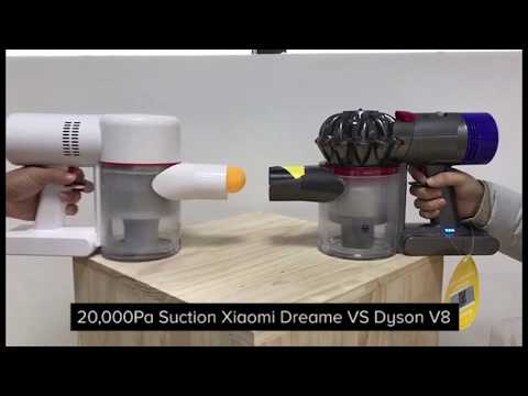 xiaomi Dreame cordless Vacuum Cleaner VS Dyson V8