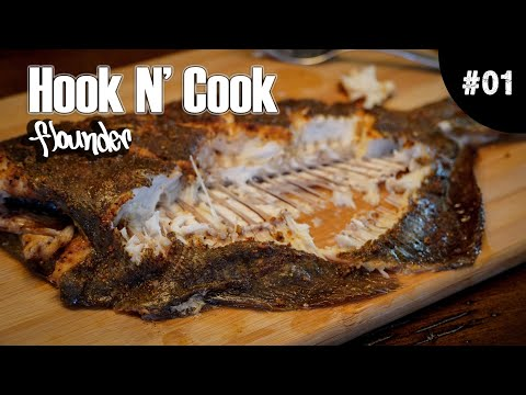 How To Cook AMAZING Flounder Whole | Quick & Easy Fish Recipe #CatchAndCook