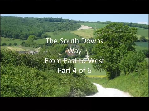 South Downs Way, East to West, Part 4 of 6 - Amberley to Petersfield