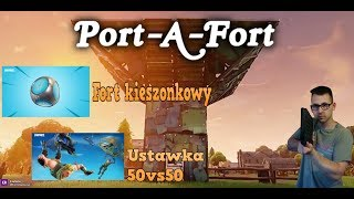 🔴Fortnite - Port-A-Fort - Nowy Patch 3.5🔴Wbijaj :D