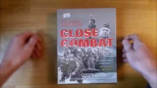Close Combat V: Invasion Normandy (Big box PC game) Unboxing