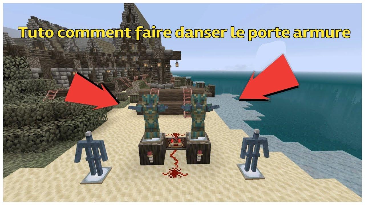 Tuto Comment Faire Danser Le Porte Armure Minecraft Youtube