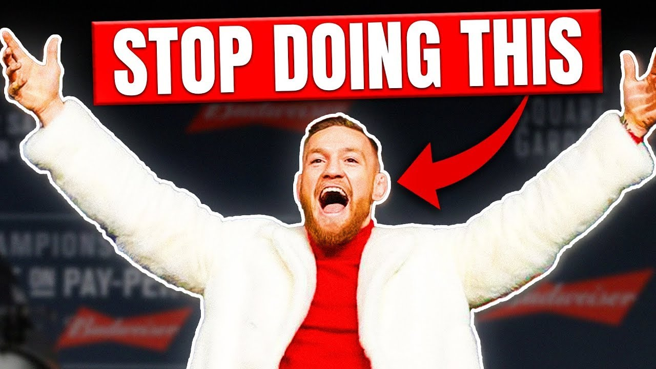 Conor McGregor: How To Be Confident Without Being Arrogant
