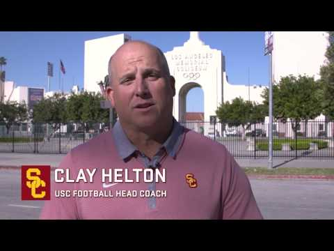 Coliseum Renovation - Clay Helton and Lynn Swann