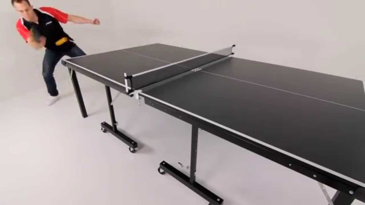 Escalade Sports T8288 Insta Play Stiga Folding Table Tennis
