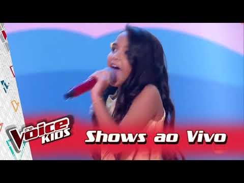 Mariah Yohana canta 'Biquini de' nos Shows ao Vivo – 'The Voice Kids Brasil'  3ª Temporada