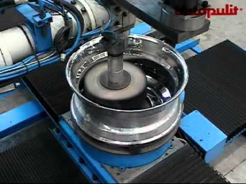 Best Machine For Polishing Aluminum Wheel To Chrome Like Finish