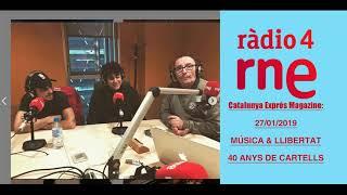 ENTREVISTA MÚSICA & LLIBERTAT A RÀDIO 4 CAT EXPRESS MAGAZINE