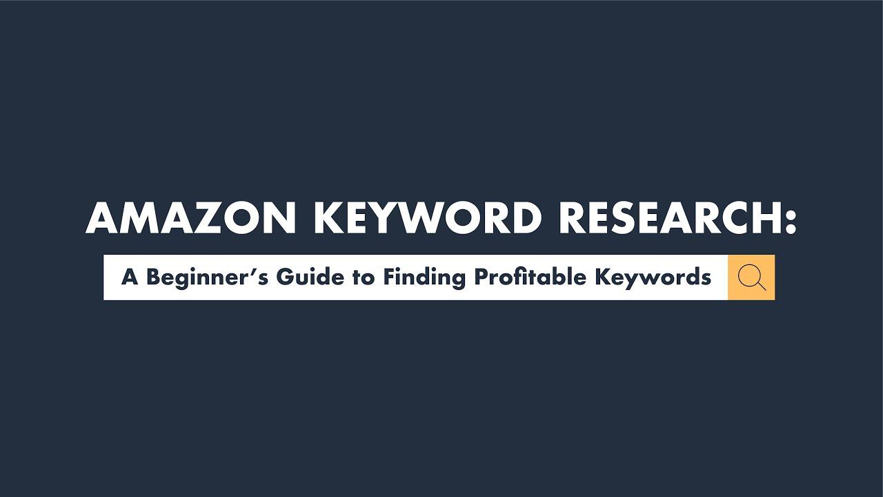 keyword finder amazon