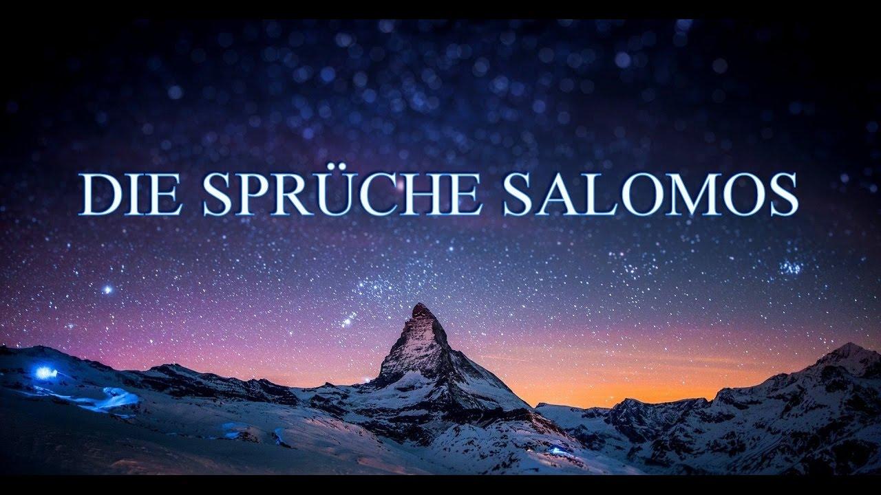 sprüche salomos DIE SPRÜCHE SALOMOS / Kap. 3   YouTube sprüche salomos
