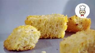 СУХАРИКИ В ДУХОВКЕ - Простой рецепт как приготовить в домашних условиях / Волшебная еда