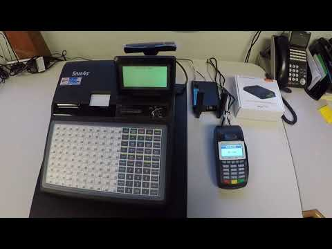 EMV credit card terminal for SAM4s cash registers