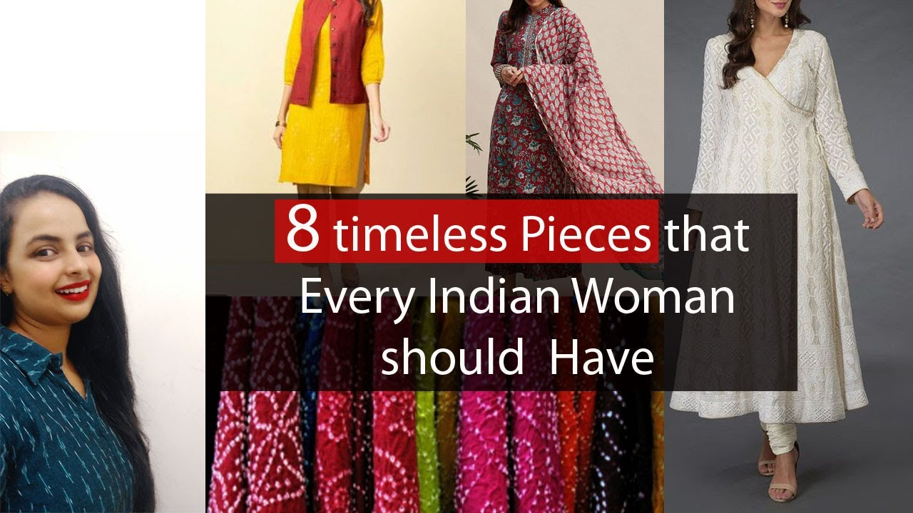 Classic Indian Clothing Wardrobe Essentials