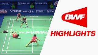 Tahoe China Open 2017   Badminton F – Highlights