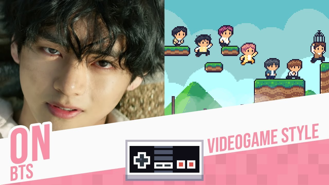 ON, BTS - Videogame Style