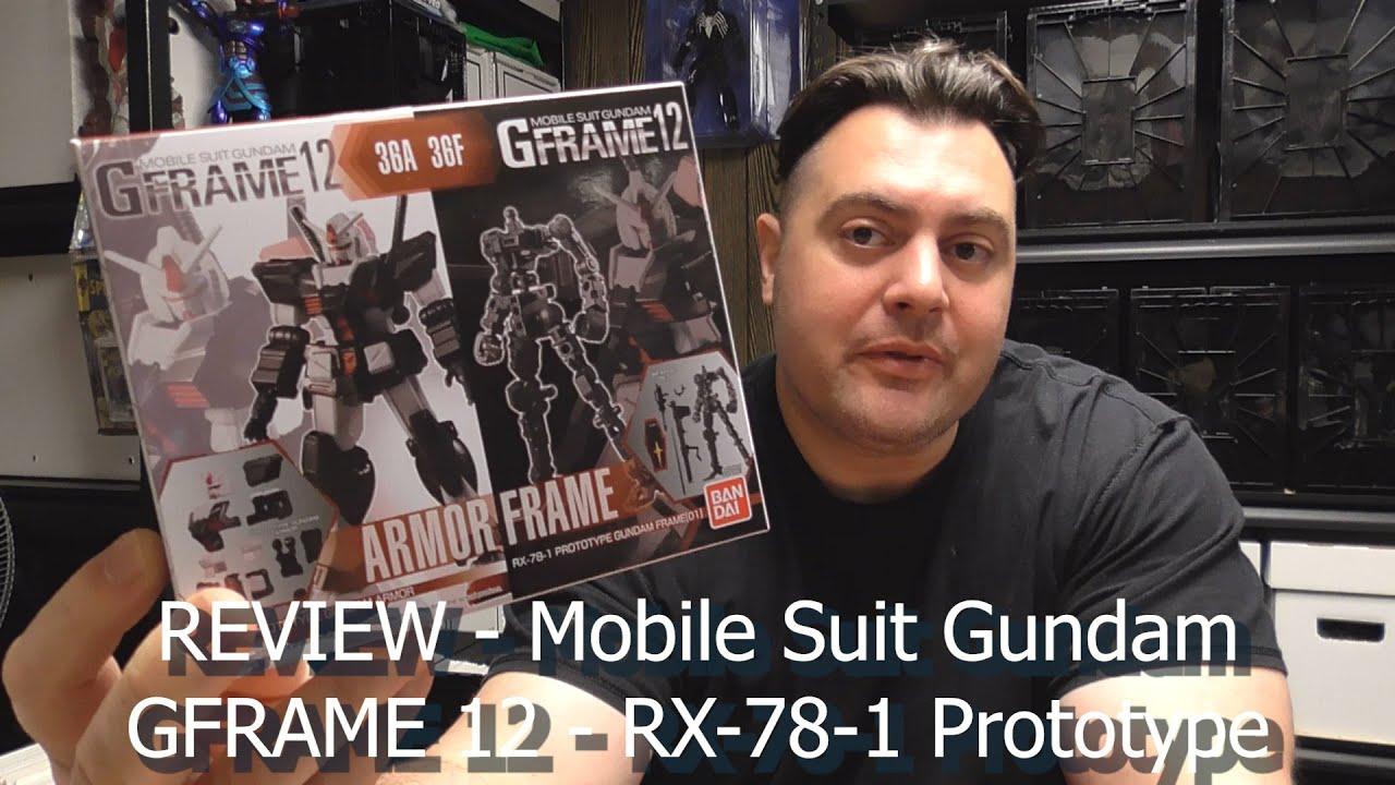 Build n' Review - Mobile Suit Gundam GFRAME 12 - RX-78-1 Prototype