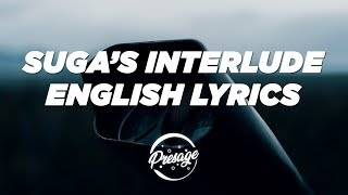 Halsey, SUGA, BTS - SUGA's Interlude (English Translation Lyrics Video)