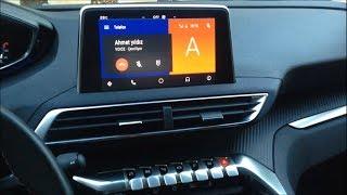 Peugeot 3008 Android Auto Arama, Mesaj Gönderme, Spotify ve Navigasyon Kullanımı