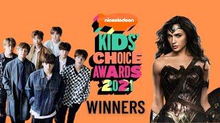 Nickelodeon's Kids' Choice Awards 2021 Winners
