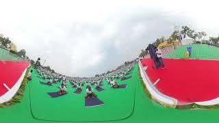 360 Degree view - International Yoga Day 2019
