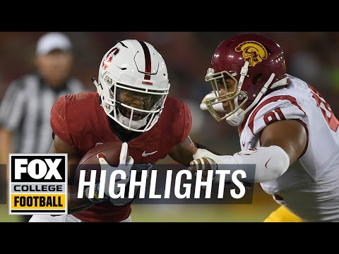 Stanford vs USC | FOX COLLEGE FOOTBALL HIGHLIGHTS