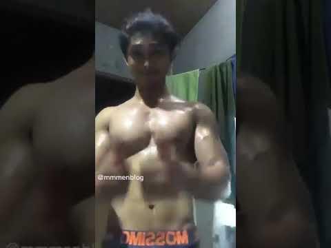 HOT!!! MANDI KERINGAT COWOK GANTENG || Indonesia Berotot