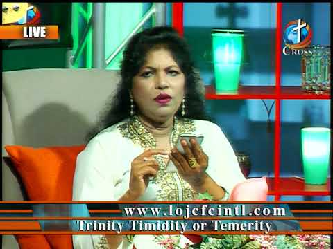Trinity Timidity or Temerity Dr. Dominick Rajan 03-23-2018