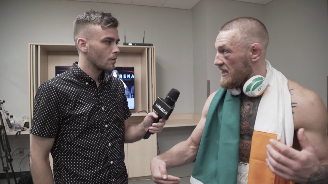 Exclusive Conor McGregor Interview after Floyd Mayweather fight ...