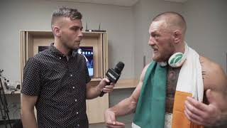 Exclusive Conor McGregor Interview after Floyd Mayweather fight