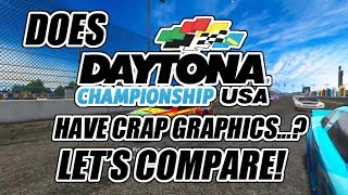 Does Daytona Championship USA have crap graphics...?