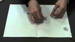 小学校理科3年(磁石の性質) 地球の磁場を使って磁石の極を決める。 ...