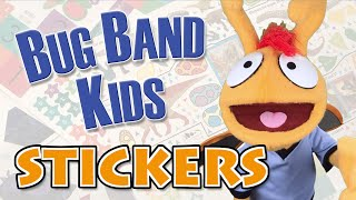 "Stickers (Jonas Brothers ""Sucker"" Parody) - Educational Pop Songs For Kids - Bug Band Kids"