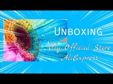 UNBOXING - Colorful Sunflower - Oly Official Store on AliExpress