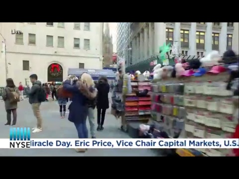 CIBC World Markets Rings The NYSE Closing Bell