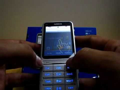 NOKIA C3-01 Touch and Type Unboxing