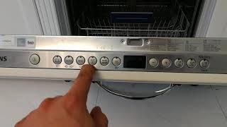 Обзор посудомоечной машины Siemens 2018 года. Программы, режимы, Turbo