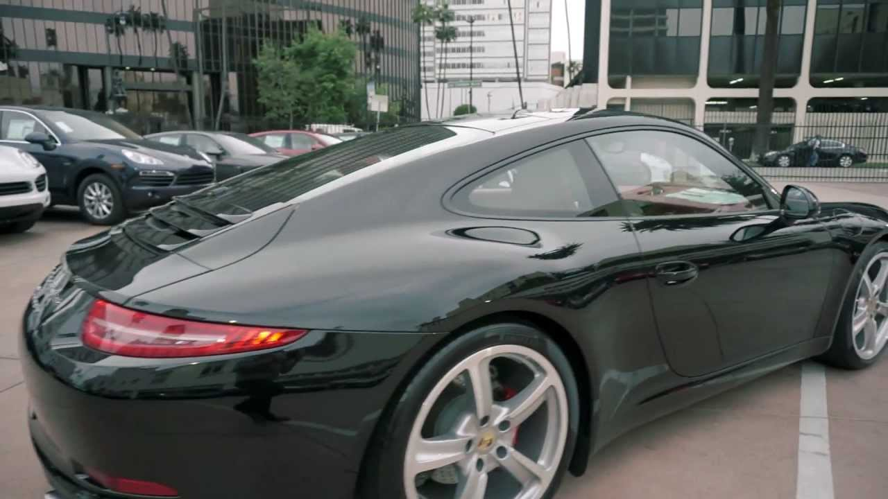 2013 porsche 911 carrera s 991 black red pdcc sport techno carbon burmester porscheconnect youtube