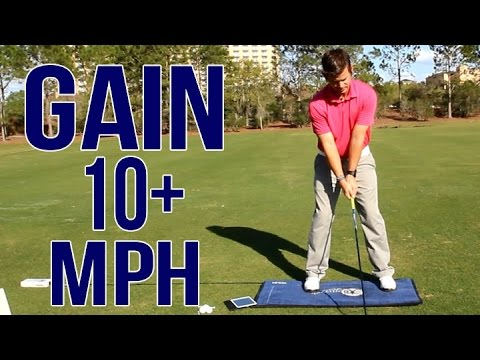 Add 10+ MPH To Your Golf Swing | Real Data Provided