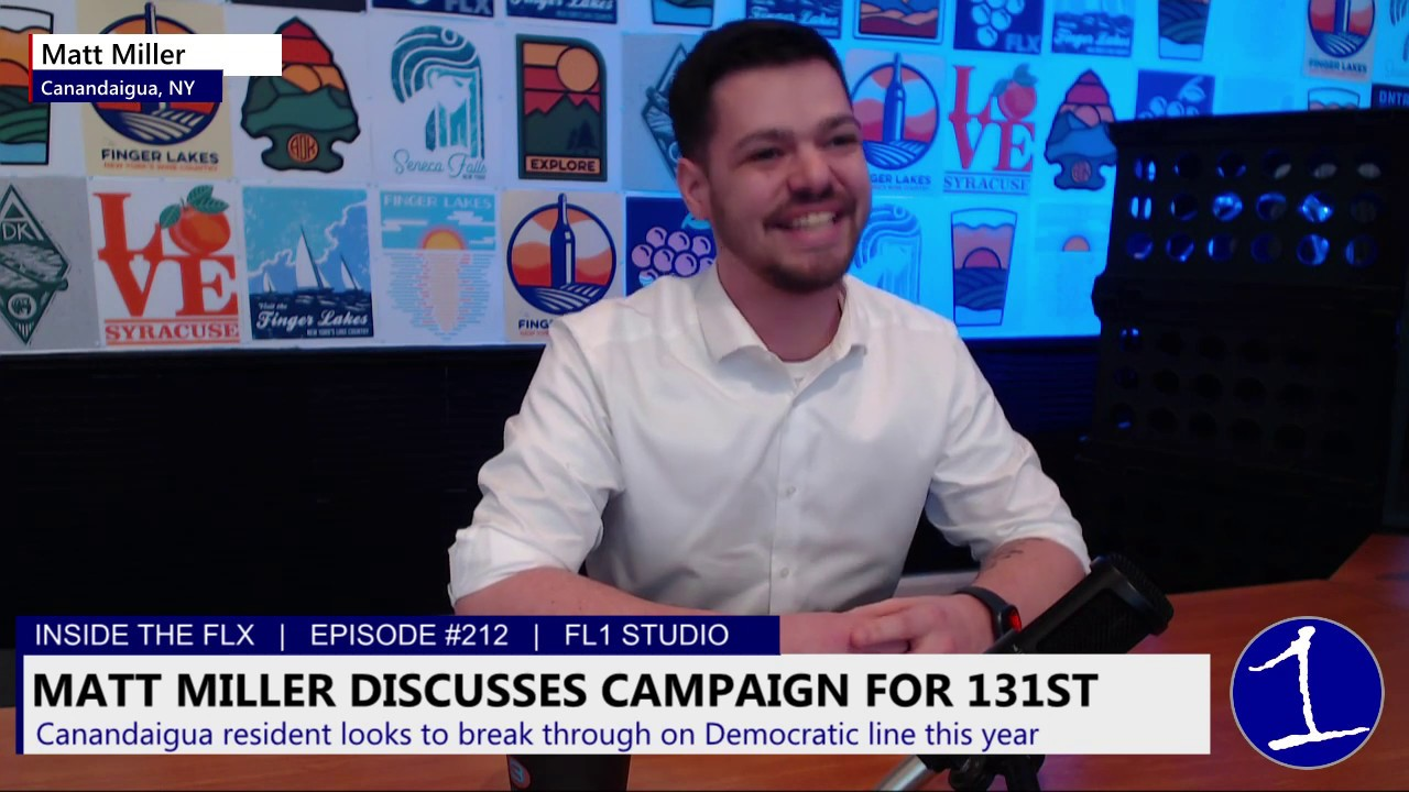 INSIDE THE FLX: 131st Candidate Matt Miller discusses campaign, working through pandemic (podcast)