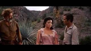 """Linda Cristal in """"Comanche"""" (1956)"""