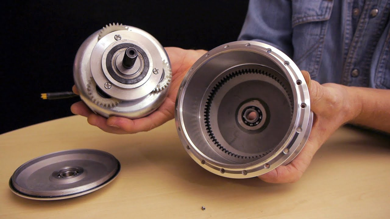 The Inside Of An E Bike Hub Motor With Planetary Gears