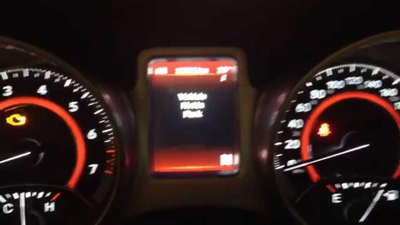 Reset Da Luz De Troca De 243 Leo Dodge Journey 2011 Youtube