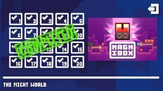 Magnibox THE NIGHT WORLD Level 1-20 Walkthrough