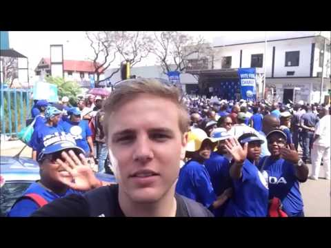 DA marching in Pretoria