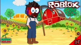 ROBLOX Indonesia #139 Farming Simulator | Can guns from the crate