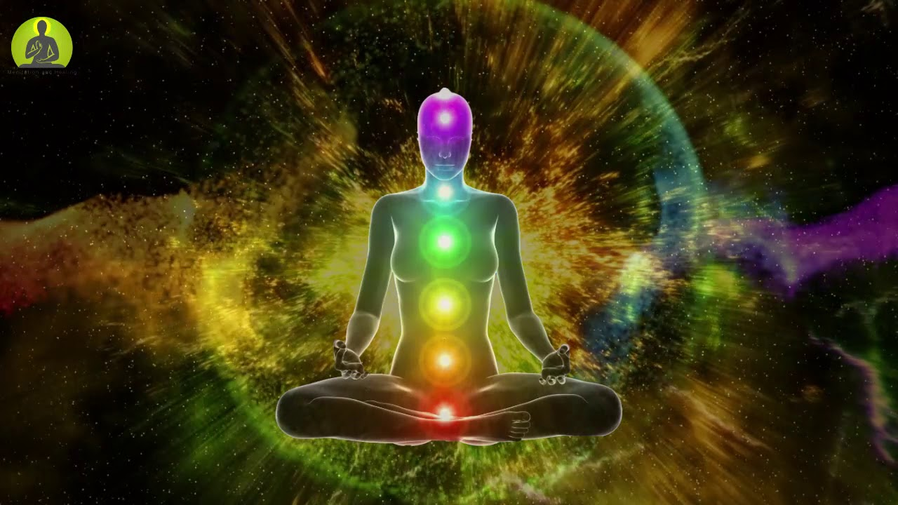 """UNBLOCK ALL 7 CHAKRAS"" 8 Hour Deep Sleep Meditation: Aura Cleansing & Balancing Chakr"