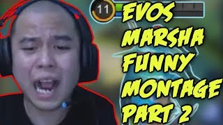 Gambar cover MARSHA FUNNY MONTAGE #2  - MOBILE LEGENDS INDONESIA